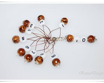 Marker knit accessories wire loops numbers marker stitch marker stitch markers for knitting