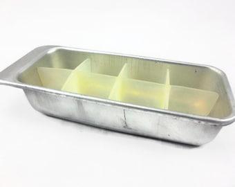 metal ice cube trays etsy. Black Bedroom Furniture Sets. Home Design Ideas