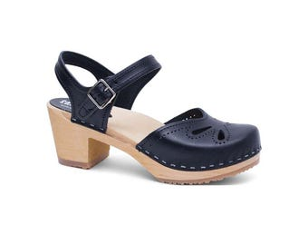 SALE 30% OFF! NEW Strap Leather Sandal for Women / Leather Sandals / Summer Shoes / Womens Slippers / Strap Sandal / Clog Sandal /Copenhagen