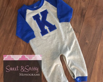 Kentucky Baby Raglan. Kentucky Bodysuit. Vintage Kentucky Bodysuit. Baby Raglan. Toddler Kentucky Wildcat. Infant Kentucky Wildcat