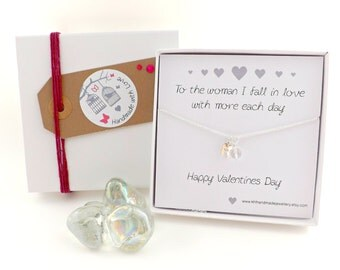 Valentines Gift * Happy Valentines Day * Wife to Wife Gift * Gift for Loved One * Romantic Gift for Her * Jewelry for Wife * The one I Love