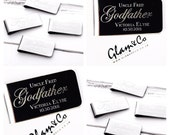 Father of the Bride Gift  Father of the Groom Gift  Godfather gift  Best Man Gift  Personalised Money Clip