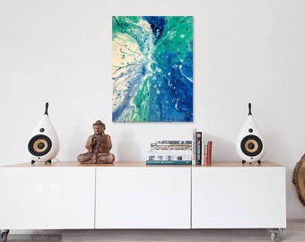 Abstract  Acrylic Painting Wall Art