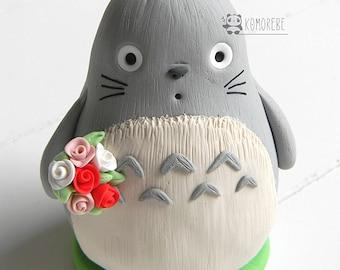 Totoro inspired, Cake Topper
