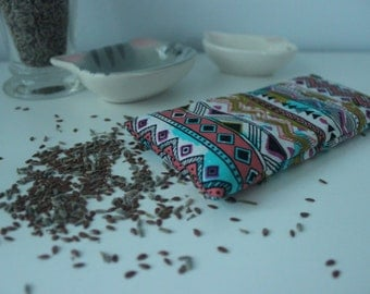 Aztec Print Lavender Eye Pillow
