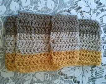 Cozy Scarf. Warm, neutral colors perfect for men and women.