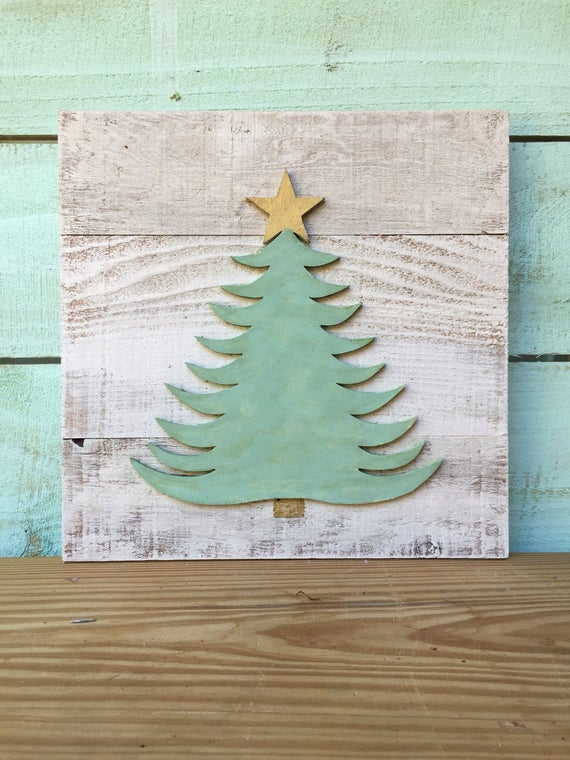 Woodlands Christmas Tree Wood Sign | Christmas Sign | Christmas Decor