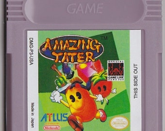 Gameboy Game Boy Color GBC Amazing Tater Customized