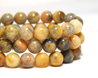 6mm Crazy Lace Agate, 6mm Agate, Crazy Lace Agate, Earthy Beads, Natural Gemstones, Natural Stones, 6mm Agate Beads, Full Strand, B-15B