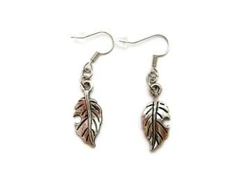 Leaf Earrings Plant Earrings Nature Lovers Gift Leaf Jewelry Leaf Jewelry Nature Earrings Nature Jewelry Nature Earrings