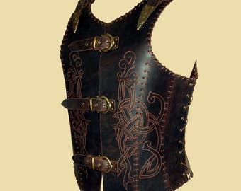 Soft Leather Armor for Vikings and Northmen