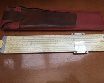Pickett Model 4 Vector Hyperbolic Log-Log Magnesium Sliderule