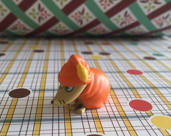 Kawaii SORRY-OO from Moomin character plastic figurine toy from Japan for your craft work