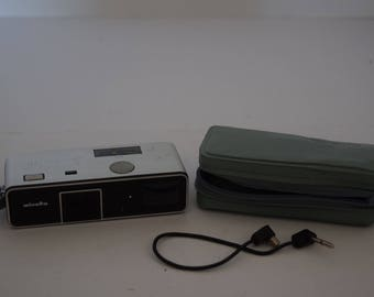 Vintage Minolta 16 Sub-Miniature Camera w/Case