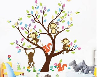 Four Little Monkeys climbing in a Tree (AW1233)