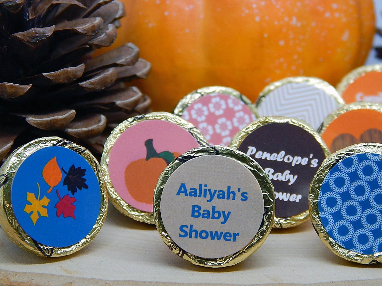 fall baby shower fall baby shower favors by partyfavorsbydesign