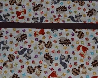 Fall Animals Pillowcase