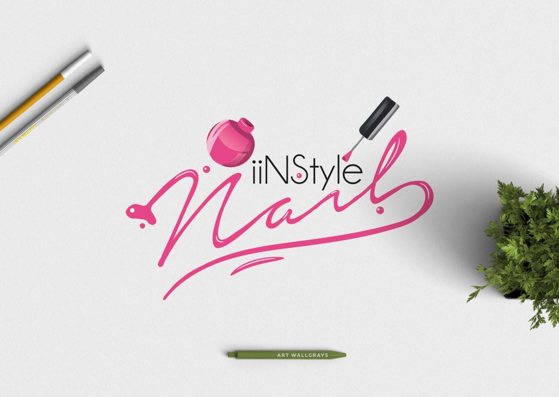 nail polish logo photography logo premade logo premade