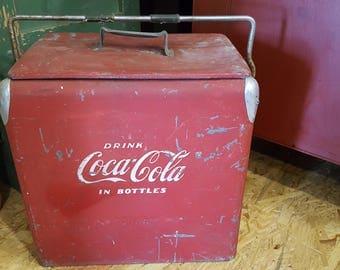 Vintage Coca Cola Cooler - Coke Cooler