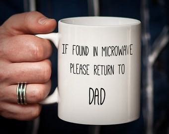 Please Return to Dad Funny Humorous Fathers' Day Mug Fathers Day Gift Dad Gift Father Gift Coffee Gift