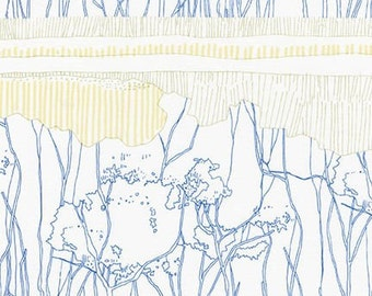 Friedlander - Tree Stripe Sky - Carolyn Friedlander - Robert Kaufman (AFR-16610-63)