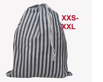 Laundry bag size XXS - XXL.