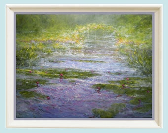 Landscape Painting, Impressionist painting landscape, Wall decor, Painting, Art Print, Oil painting,  Giclee,  Landscape print