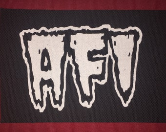 AFI Cloth Punk Patch