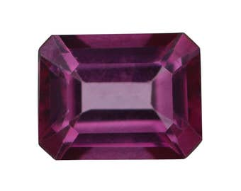Mystic Magenta Topaz Octagon Cut Loose Gemstone 1A Quality 9x7mm TGW 2.35 cts.