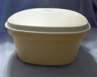 Vintage Tupperware Steamer, Microwave Vegetable Steamer, Rice Cooker, Tupperware