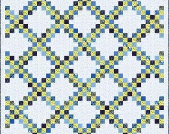 "Summer Breeze IV by Moda Quilt Kit 74"" x 96"""