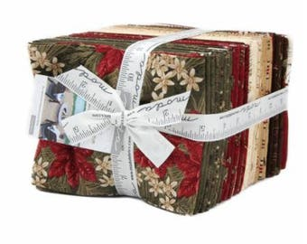 Forever Green by Holly Taylor for Moda Fat Quarter Bundle with Full Panel 37 FQ - 1 Panel 6690ab