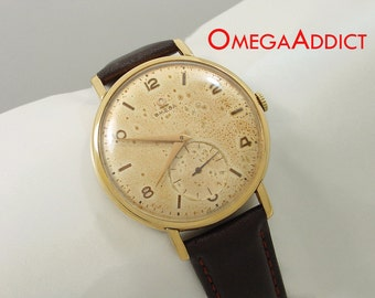 Omega Vintage Manual Large 40mm Mens Watch #A154