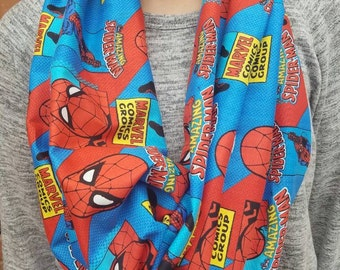Spider-man scarf