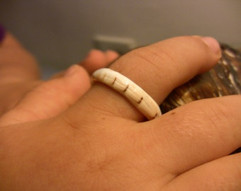 Conch Shell ring, size 6