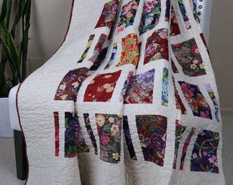 Fujiyama Flower Garden Quilt
