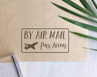 By Air Mail Stamp   Par Avion Stamp - Mailing Stamp - Packaging - Aeroplane