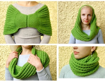 Crochet pattern for Shoulder Shrug. Timeless and easy to make: this pattern has it all.