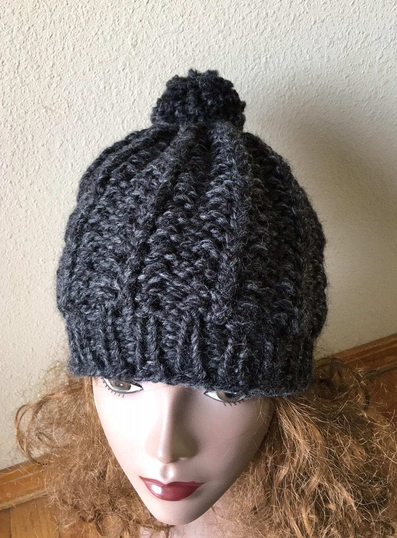 Beaver Creek Hat - a loom knit pattern