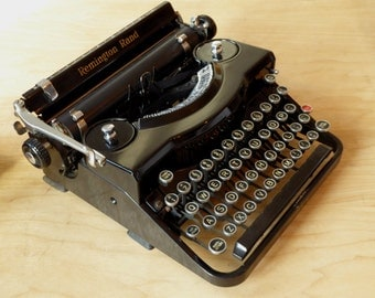 Remington Rand Model 1 - Noiseless Typewriter - Fully Serviced - Working Perfectly