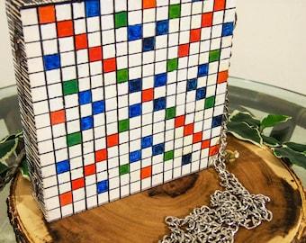 Scrabble board game bag