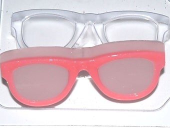 SALE! 20% off! Glasses mold, soap mold, spectacles mold, sunglasses mold, eyeglasses mold, specs soap, plastic mold, chocolate mold