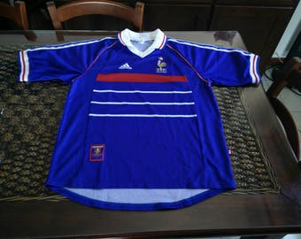 a RARE piece: 90s France Adidas Jersey made in France