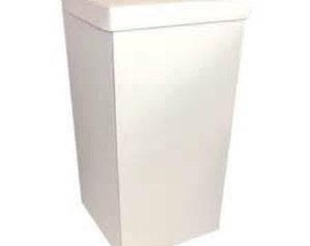 White Card Post Box