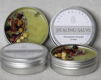 HEALING SALVE - Bee's Botanics Handmade Salve - 100% Natural & Vegan