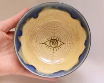 SALE** Eye Trinket Bowl / Sause Dish
