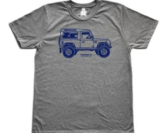 Land Rover Defender Side Graphic T-Shirt
