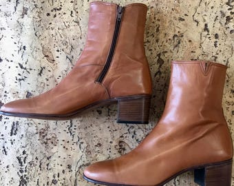 New brown boots Esquire Vintage 1970's