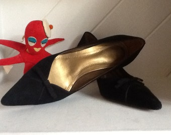 Suede Stilletto's,Pumps, Size 6M,Ann Taylor