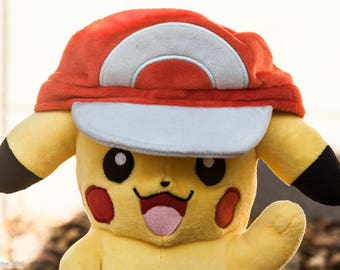 Light Up Pikachu Plush-Pikachu Plush-Light Up Pikachu-Pokemon-Fan Art-Upcyled